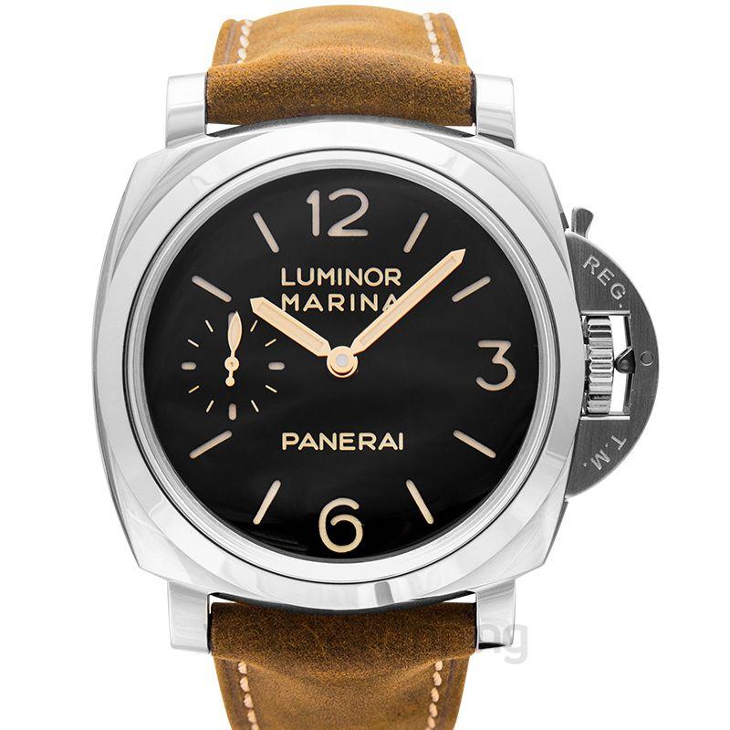 Panerai Luminor Marina Manual-winding Black Dial 47 mm Men's Watch