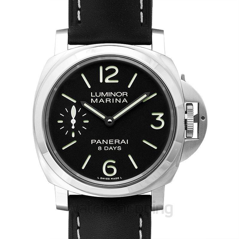 Panerai Luminor Marina 8 Days Manual-winding Black Dial 44 mm Men's Watch