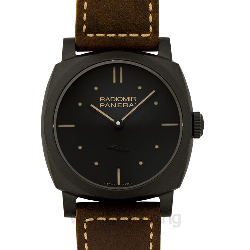 Panerai Radiomir Manual-winding Black Dial 48 mm Men's Watch