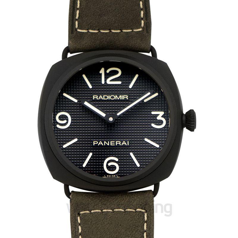 Panerai Radiomir Ceramica Manual-winding Black Dial 45 mm Men's Watch