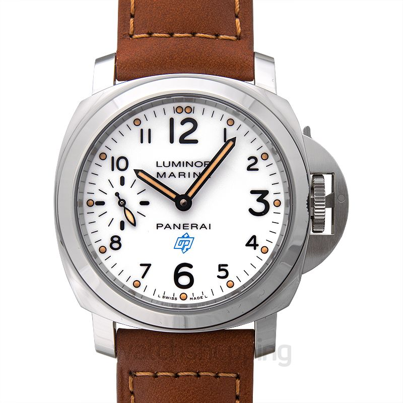 Panerai Luminor Manual-winding White Dial Men's Watch