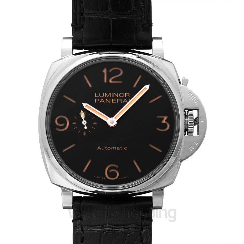 Panerai Luminor Due Automatic Black Dial Men's Watch