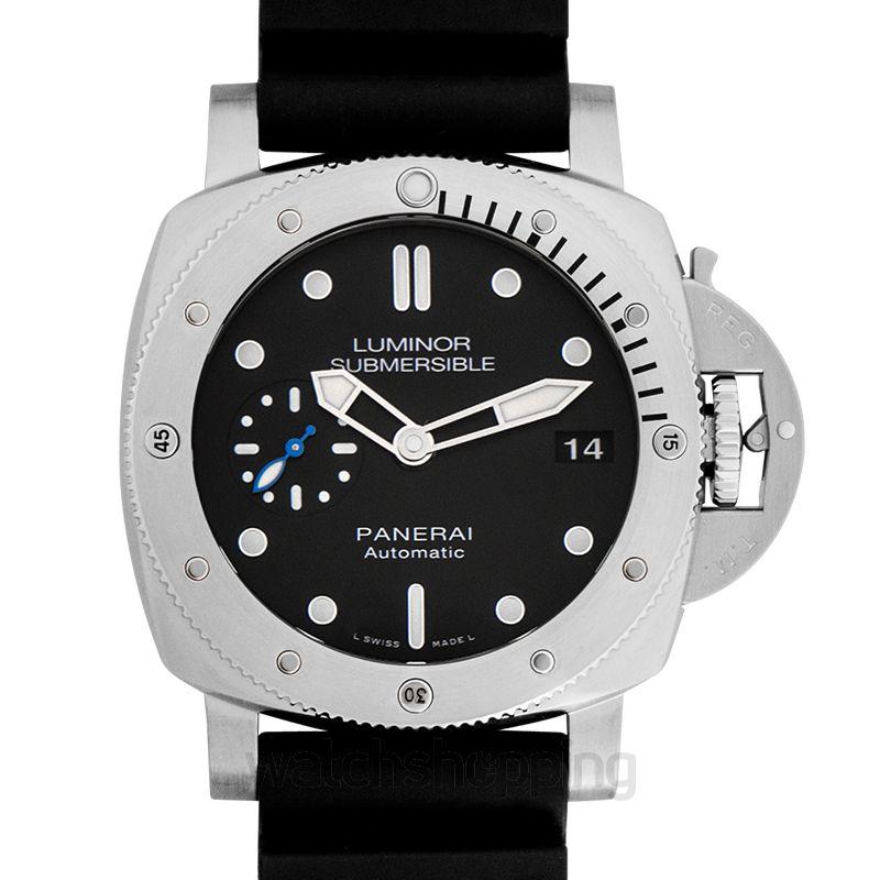 Panerai Luminor Submersible Automatic Black Dial 42 mm Men's Watch