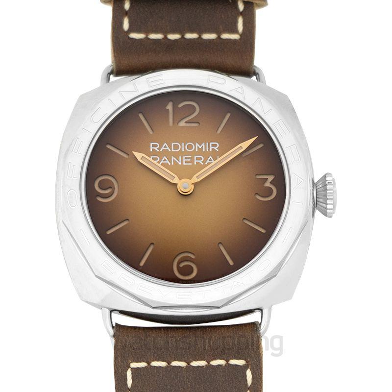 Panerai Radiomir Manual-winding Brown Dial 47 mm Men's Watch