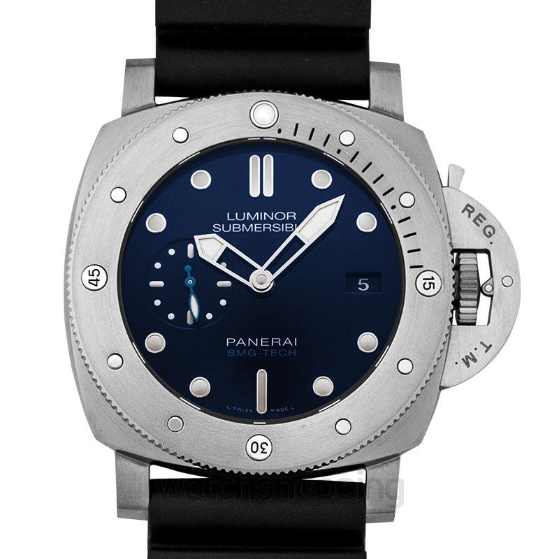 Panerai Luminor Submersible BMG-TECH Automatic Blue Dial 47 mm Men's Watch