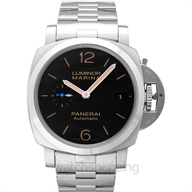 Panerai Luminor Marina Automatic Black Dial 42 mm Men's Watch