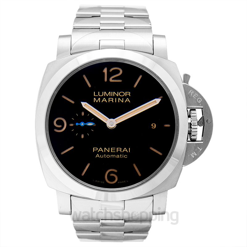 Panerai Luminor Marina Automatic Black Dial 44 mm Men's Watch