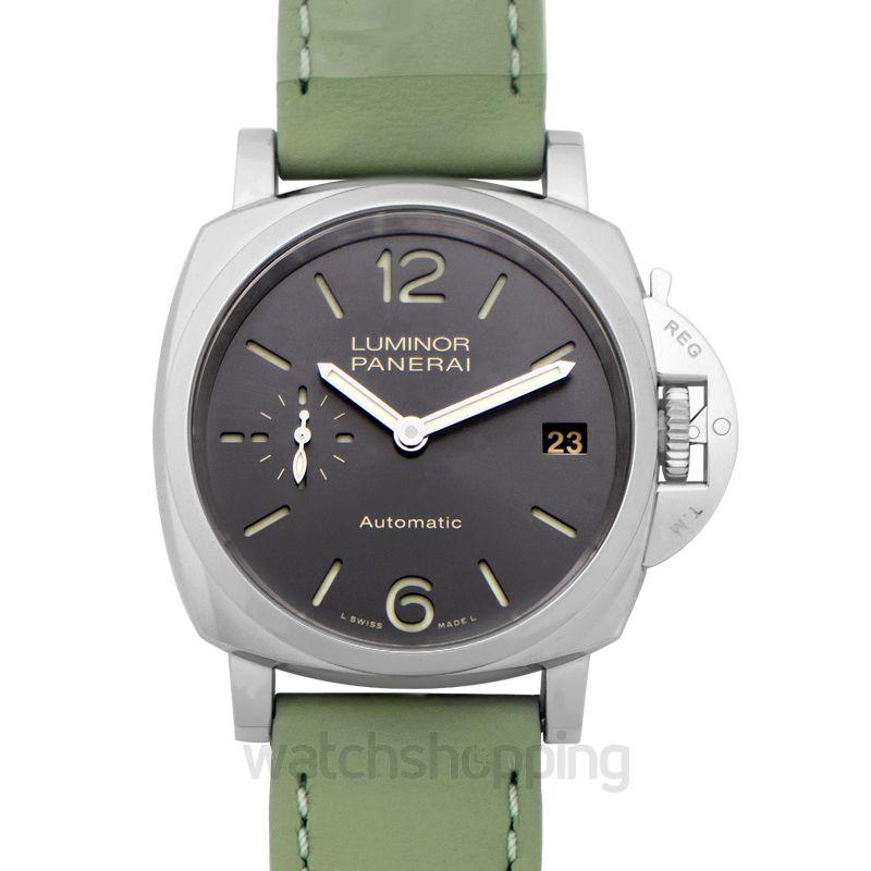 Panerai Luminor Due Automatic Grey Dial 38 mm Men's Watch