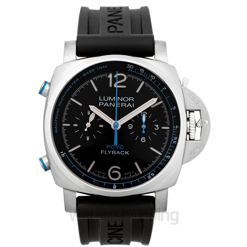 Panerai Luminor Yachts Challenge Automatic Black Dial 44 mm Men's Watch