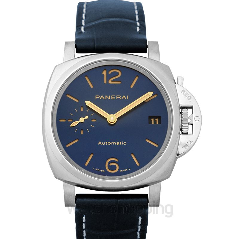 Panerai Luminor Due Automatic Blue Dial Men's Watch