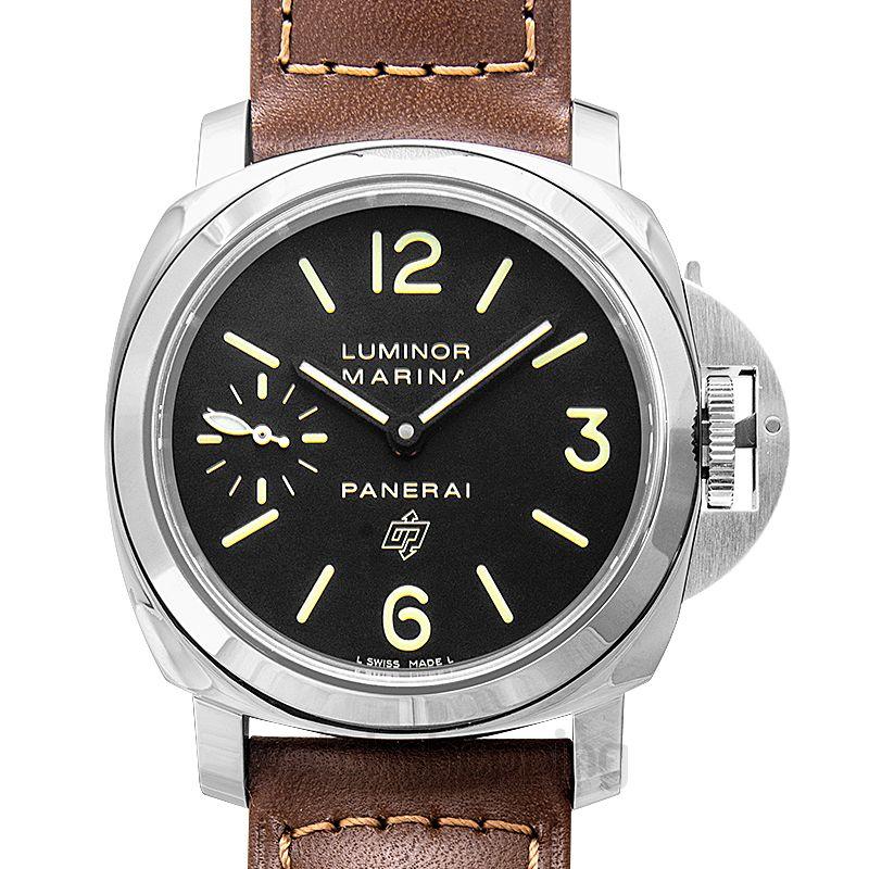 Panerai Luminor Marina Logo Manual-winding Black Dial 44 mm Men's Watch
