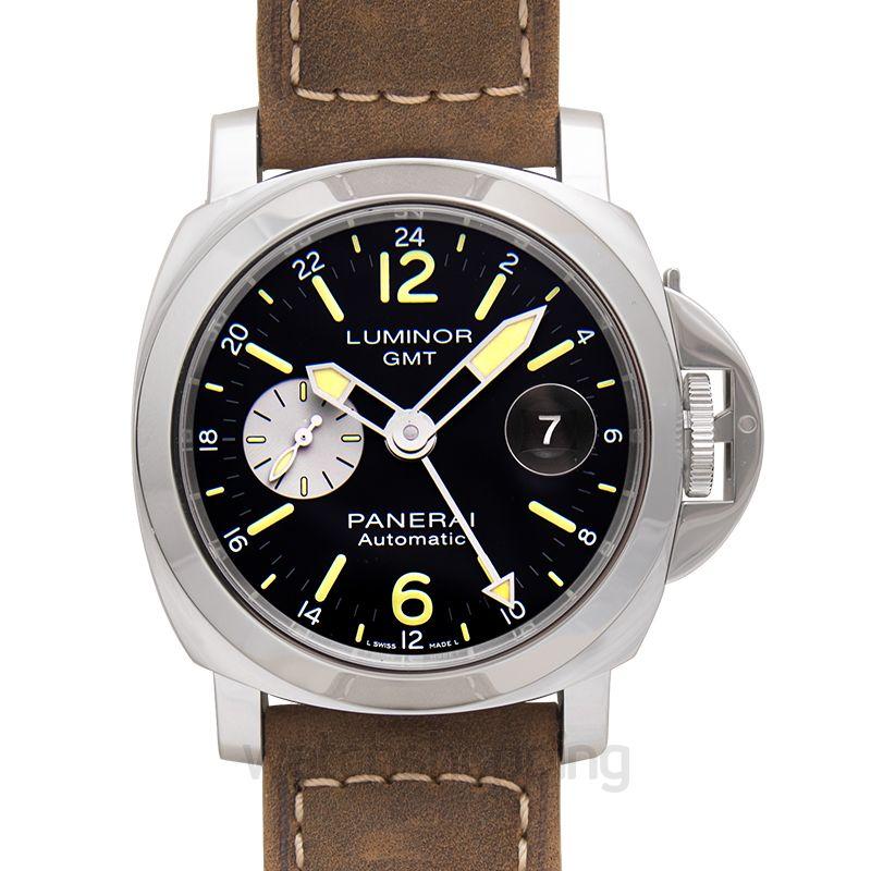 Panerai Luminor GMT Automatic Black Dial 44 mm Men's Watch