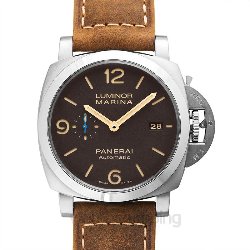 Panerai Luminor Marina Automatic Brown Dial 44 mm Men's Watch