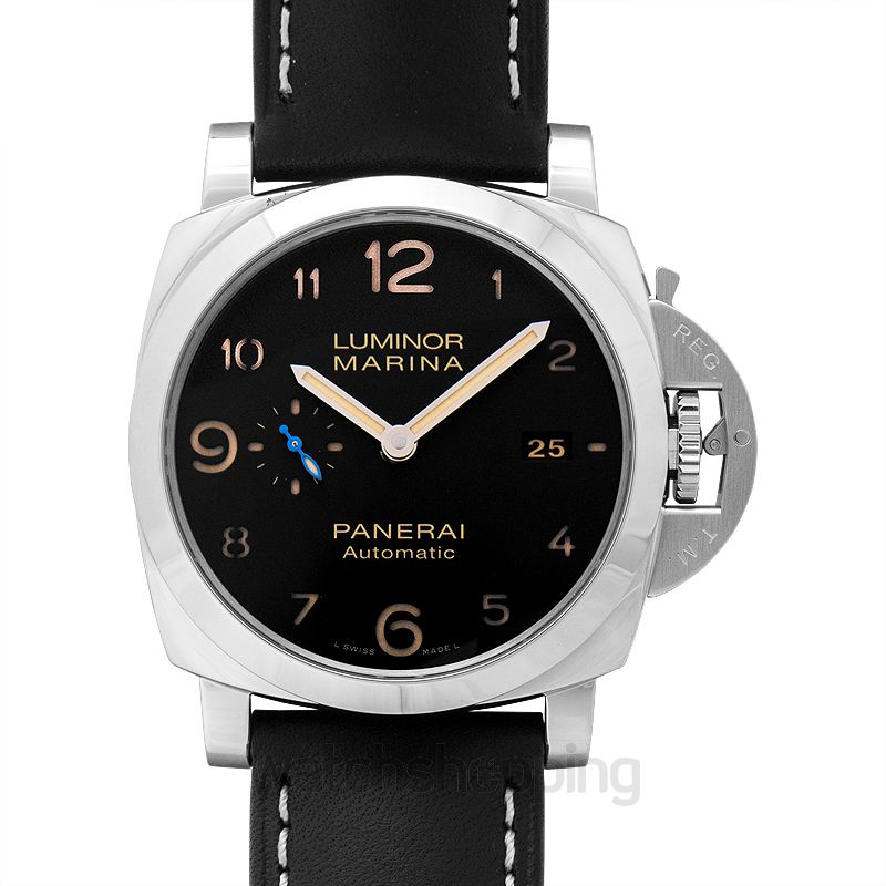 Panerai Luminor Marina Automatic Black Dial 44 mm Men's Watch