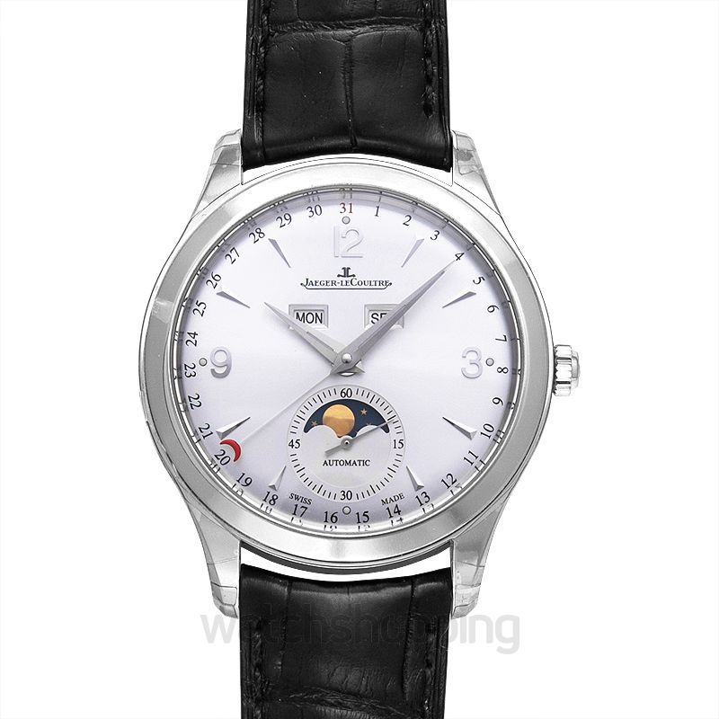 Jaeger LeCoultre Master Calendar Automatic Silver Dial Men's Watch