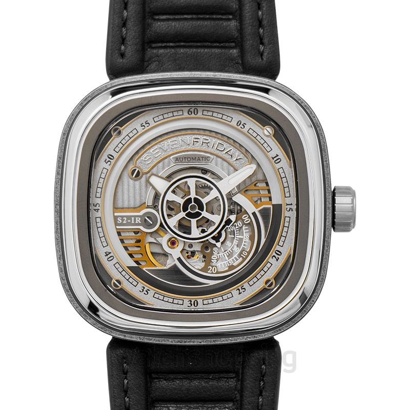 Sevenfriday Seven Friday S-Series Automatic Silver Dial Men's Watch 47 mm
