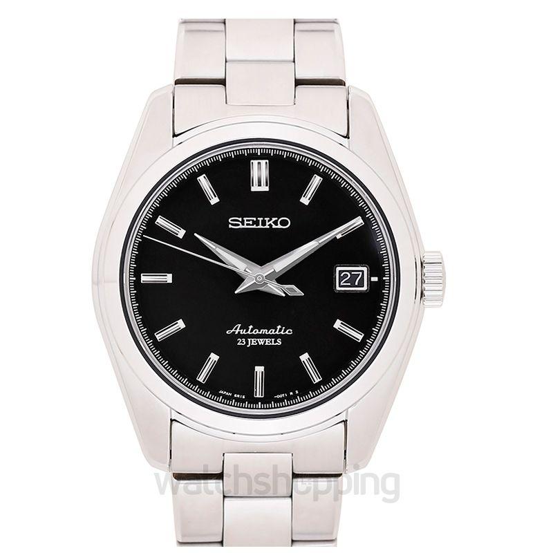 Seiko Seiko Chronograph Black Dial Men's Watch