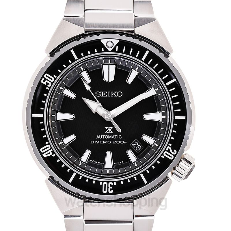 Seiko Prospex Diver Trans Ocean Stainless Steel / Black / Bracelet