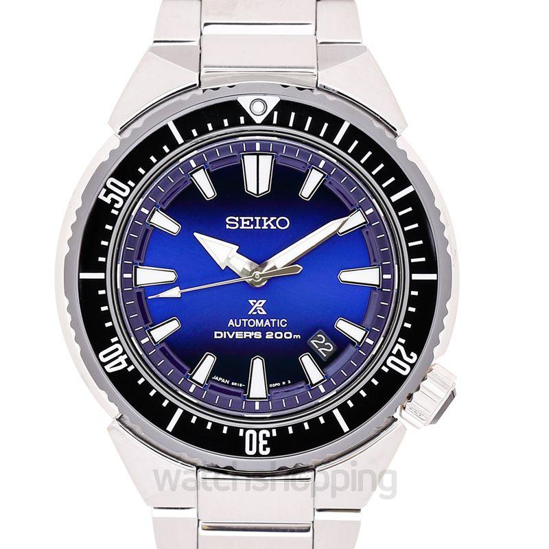 Seiko Prospex Diver Trans Ocean Stainless Steel / Blue / Bracelet