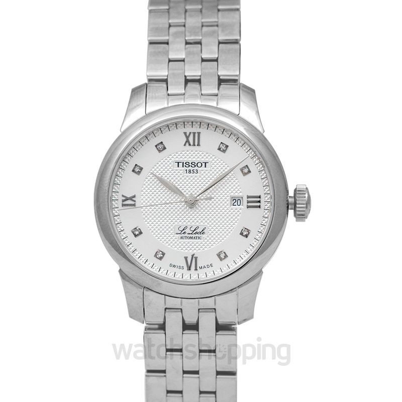 Tissot T-Classic Automatic Silver Dial Ladies Watch