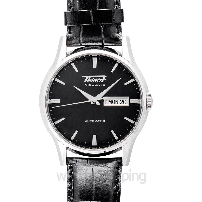 Tissot Heritage Visodate Automatic Black Dial Men's Watch