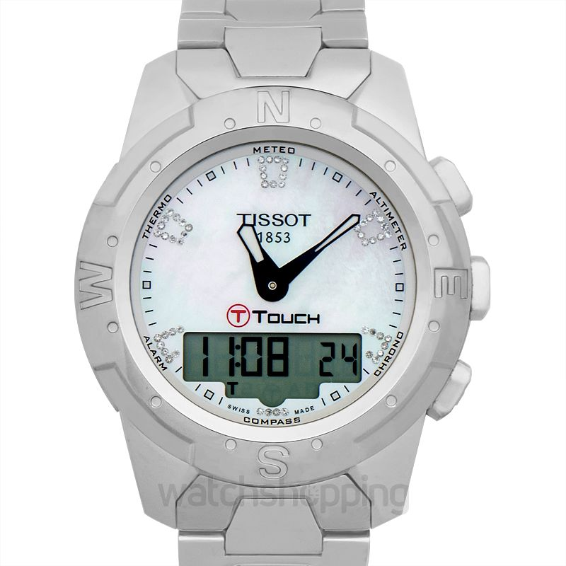 Tissot Touch Collection Quartz Mother of pearl Dial Men's Watch