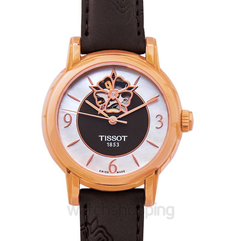 Tissot T-Lady Lady Heart Powermatic 80 Automatic Mother Of Pearl Dial Ladies Watch