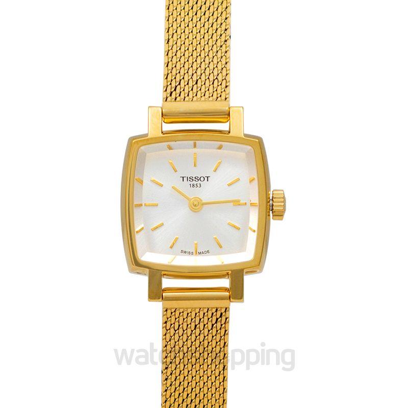 Tissot T-Lady Quartz Silver Dial Ladies Watch