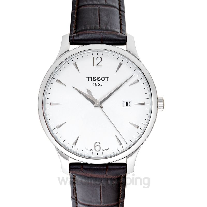 Tissot T-Classic Tradition Quartz Silver Dial Men's Watch