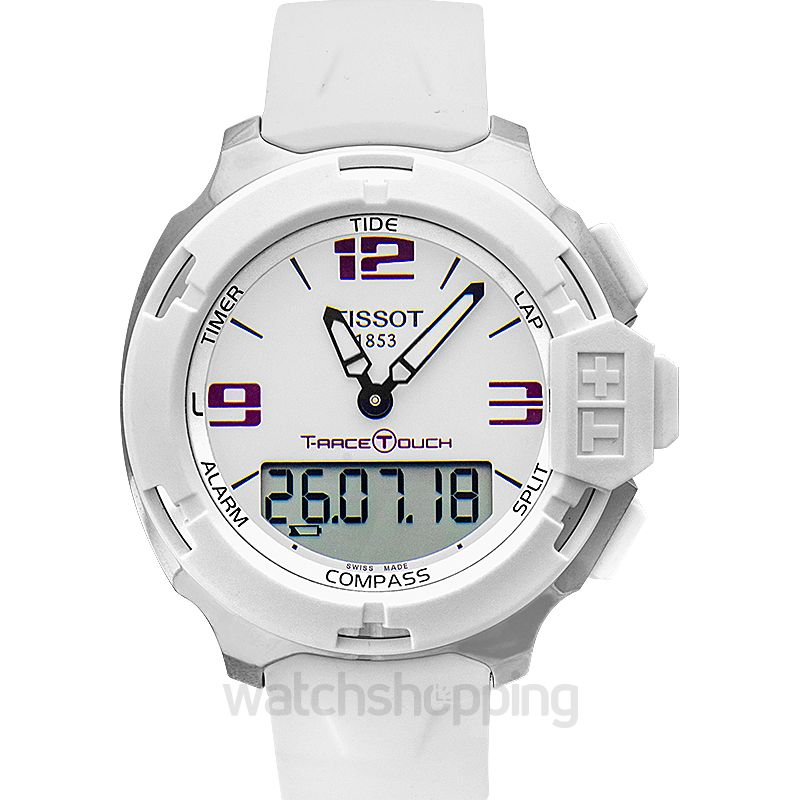 Tissot Touch Collection Quartz White Dial Unisex Watch