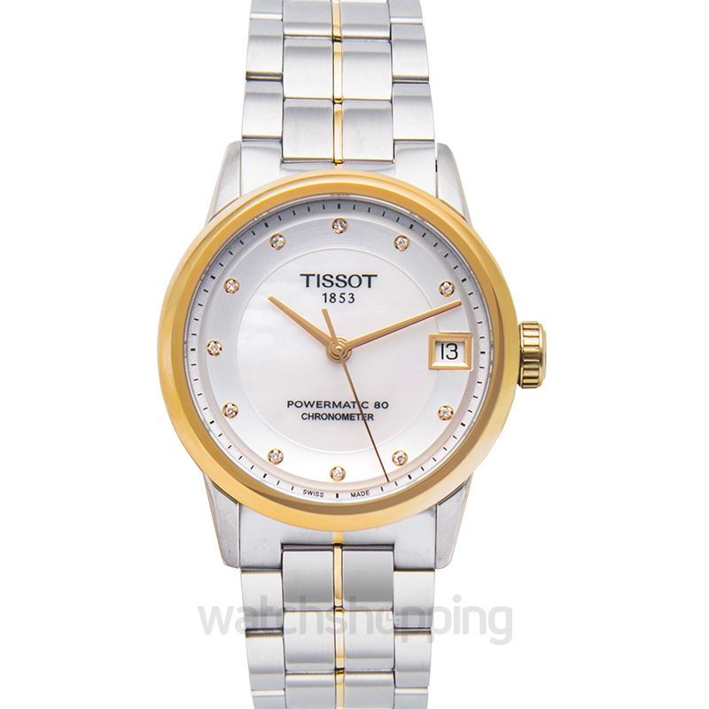 Tissot T-Classic Automatic Mother of pearl Dial Women's Watch