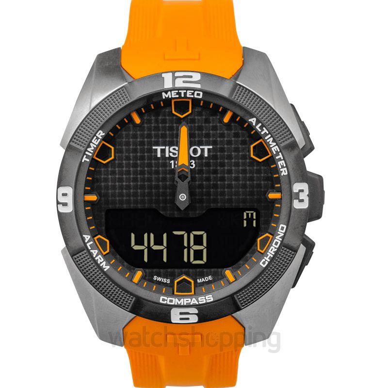 Tissot Touch Collection Quartz Black Dial Men's Watch
