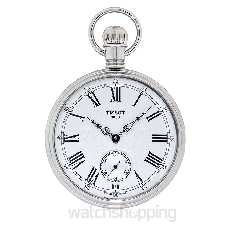 Tissot T-Pocket Manual-winding Silver Dial Men's Watch