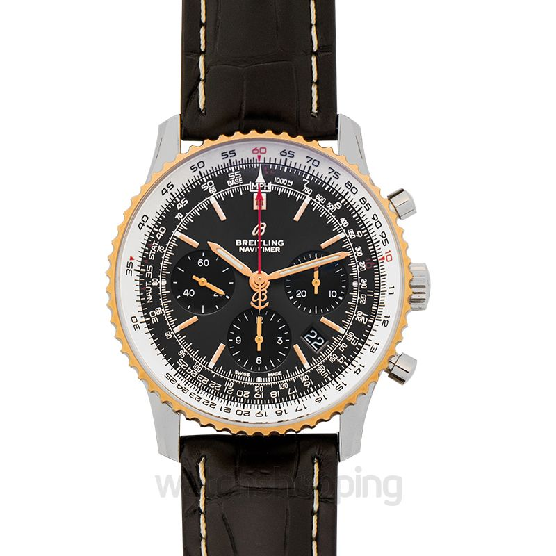 Breitling Navitimer 1 Chronograph 43 Automatic Grey Dial Men's Watch