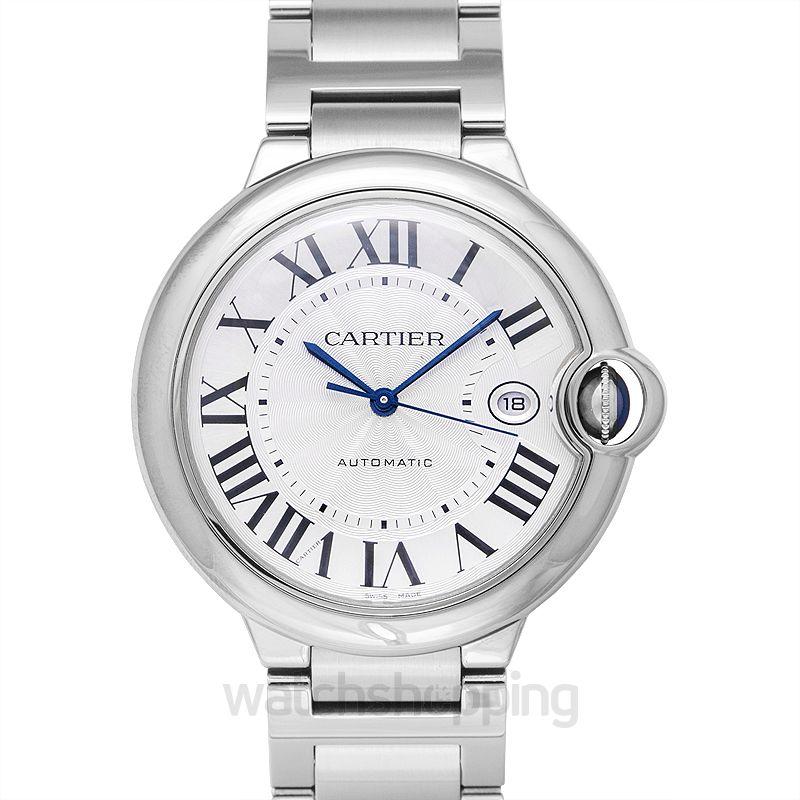 Cartier Ballon Bleu de Cartier Automatic Silver Dial Men's Watch