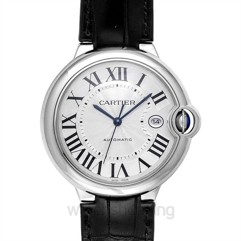 Cartier Ballon Bleu de Cartier 42.10 mm Automatic Silver Dial Stainless steel Men's Watch