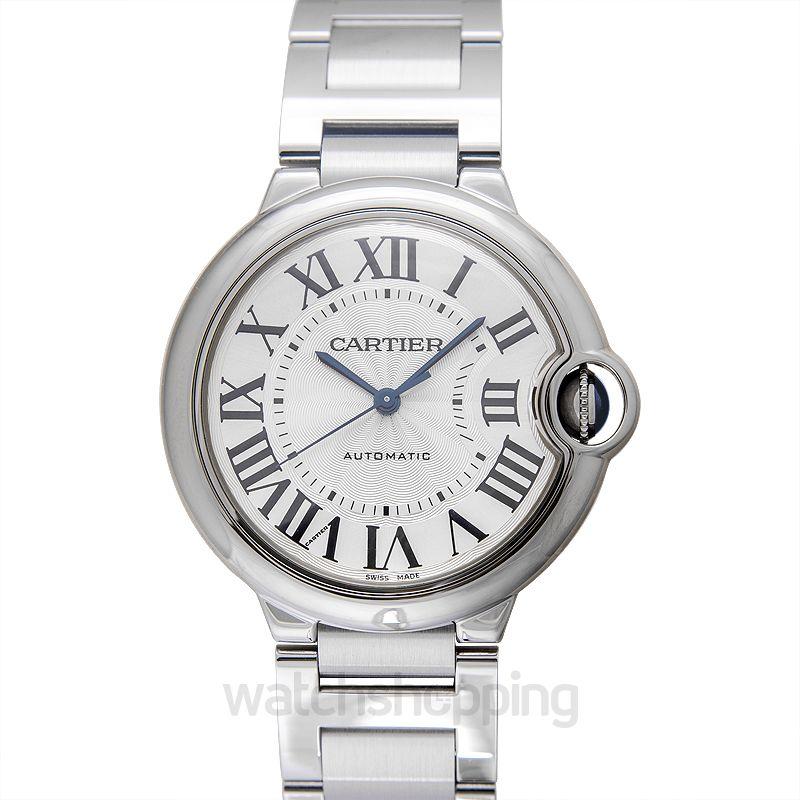 Cartier Ballon Bleu de Cartier 36.60 mm Automatic Silver Dial Stainless steel Men's Watch