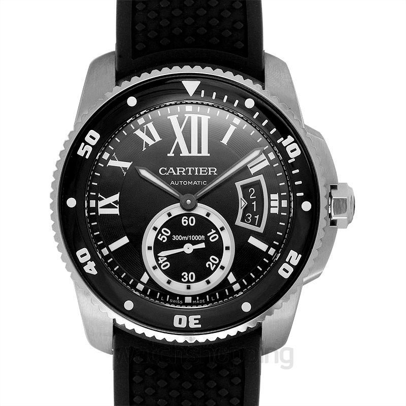 Cartier Calibre de Cartier Diver 42.00 mm Automatic Black Dial Stainless steel Men's Watch