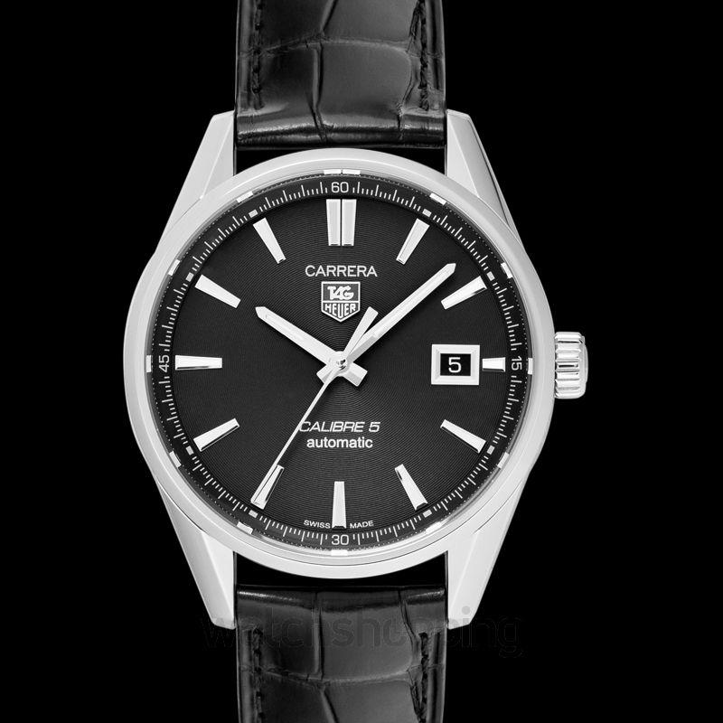 Tag Carrera Watch >> Carrera Automatic Black Dial Ladies Watch