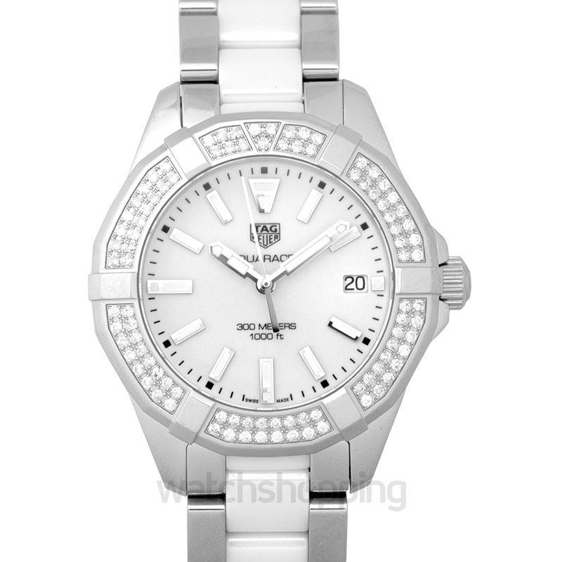TAG Heuer Aquaracer Quartz White Dial Women's Watch