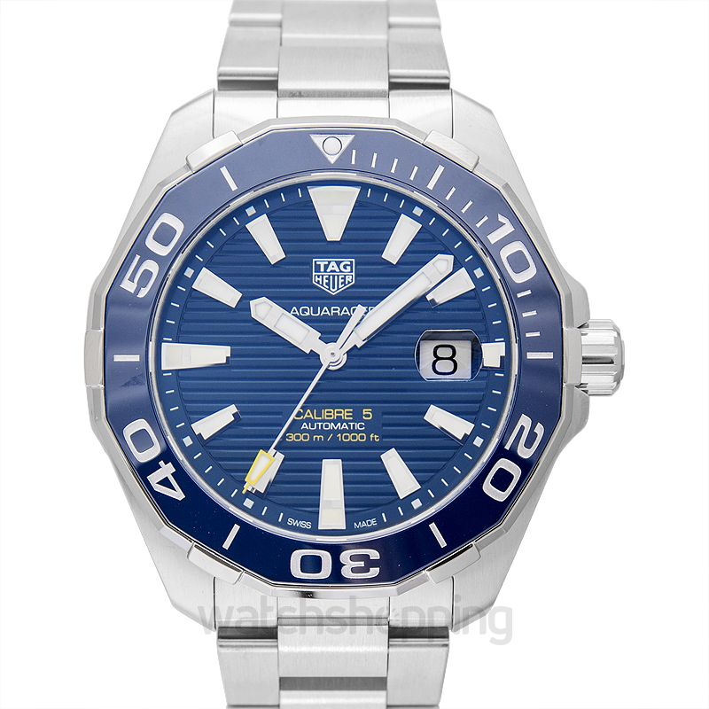 TAG Heuer Aquaracer Calibre 5 Automatic Blue Dial Men's Watch