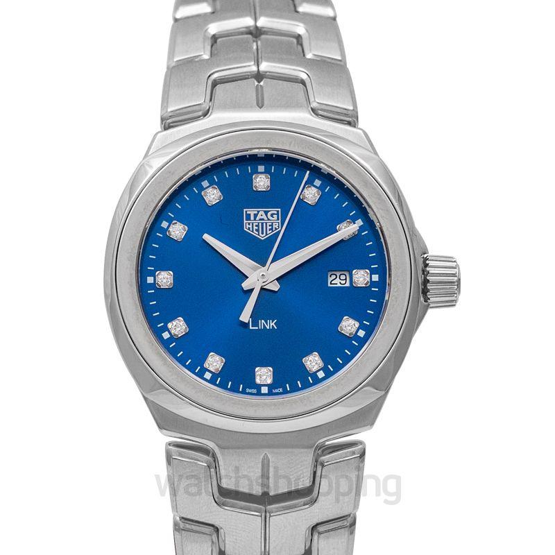 TAG Heuer Link Quartz Blue Dial Ladies Watch
