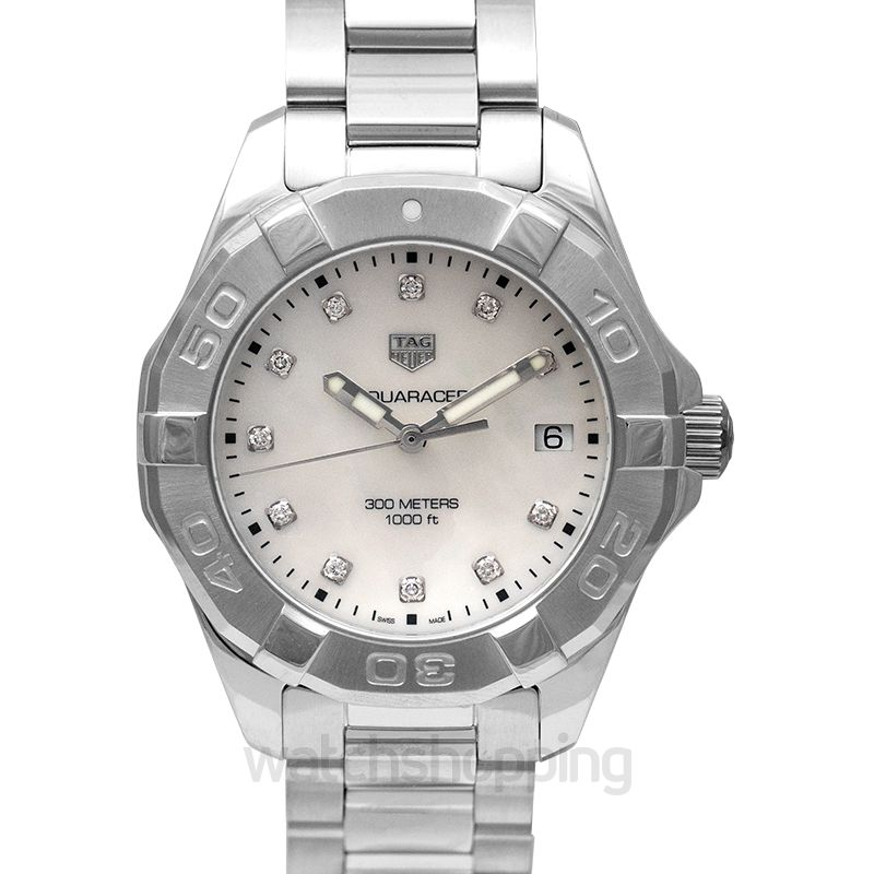 TAG Heuer Aquaracer Quartz Mother of pearl Dial Women's Watch