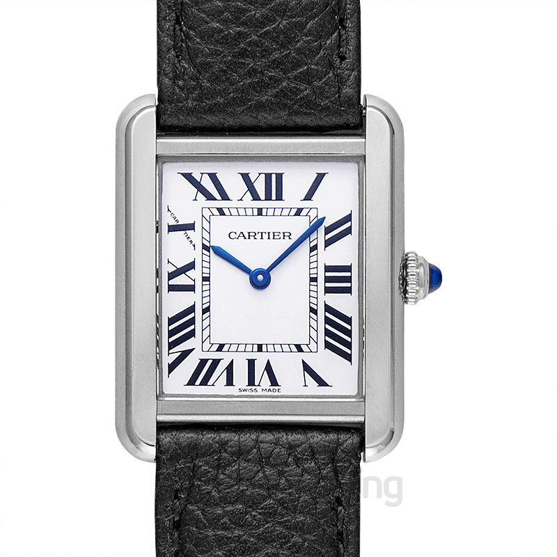 Cartier Tank Solo 31 mm x 24.4 mm Quartz Mother of pearl Dial Stainless Steel Ladies Watch