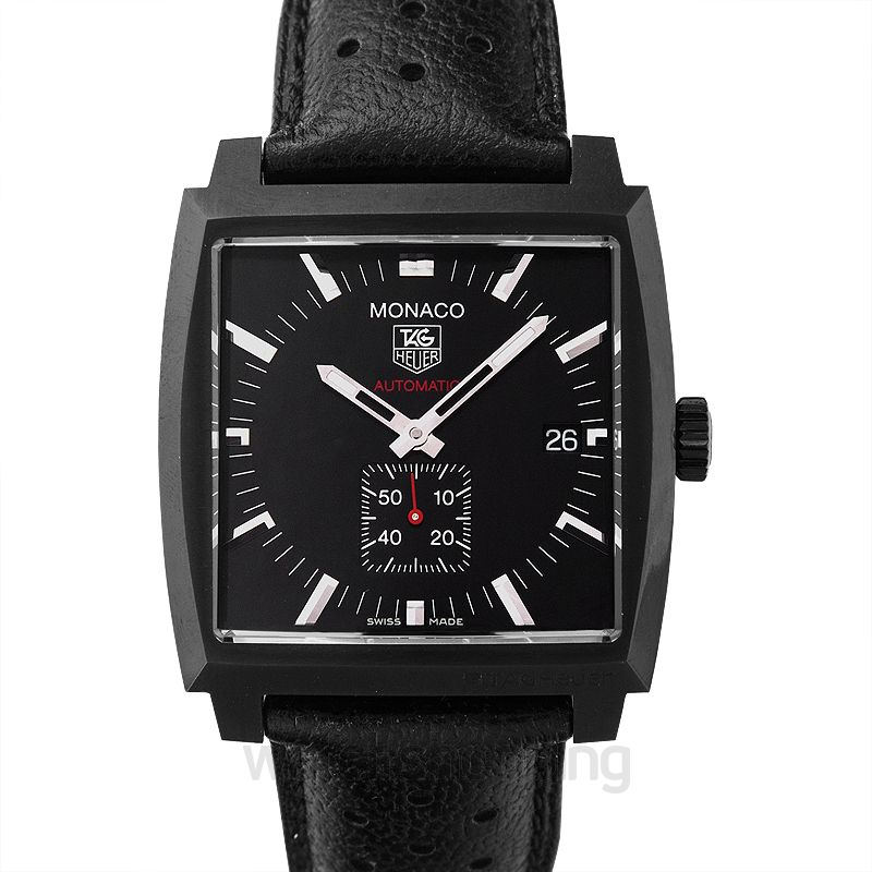 TAG Heuer Monaco Automatic Black Dial Unisex Watch
