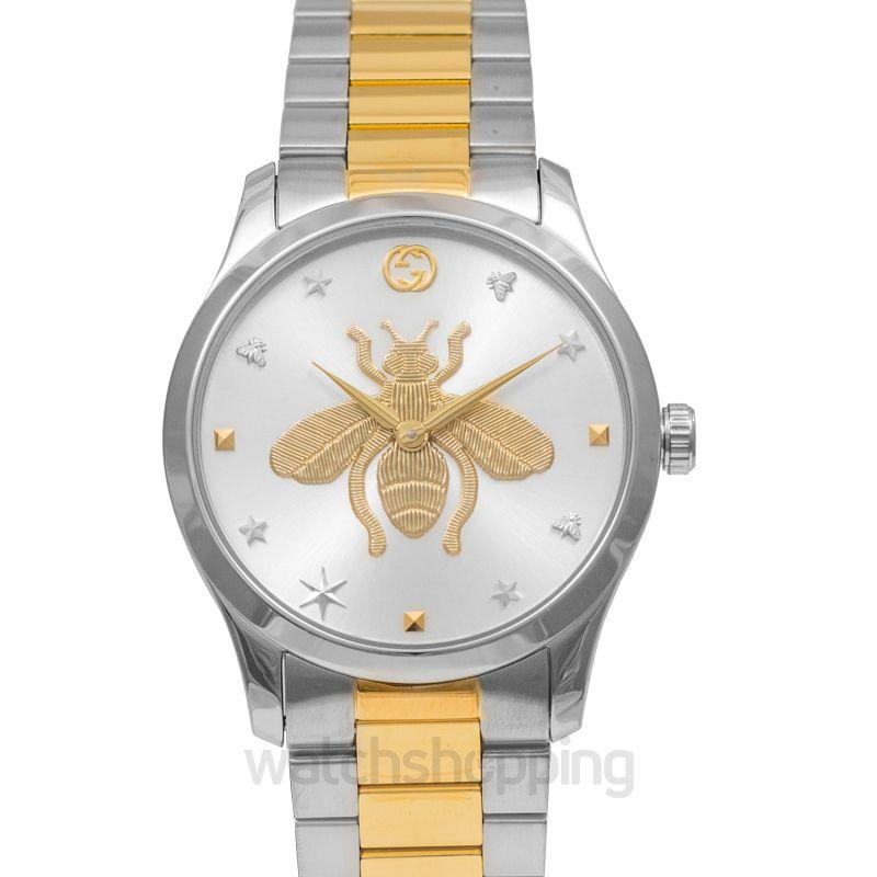 Gucci G-Timeless watch 38mm Quartz Silver Dial Men's Watch