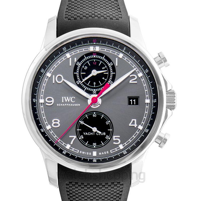 IWC Portugieser Yacht Club Chronograph Automatic Black Dial Men's Watch