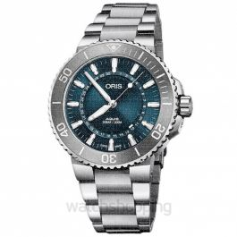 Aquis Source of Life Limited Edition Automatic Blue Dial Men's Watch