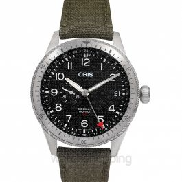 Big Crown ProPilot Timer GMT Automatic Black Dial Men's Watch