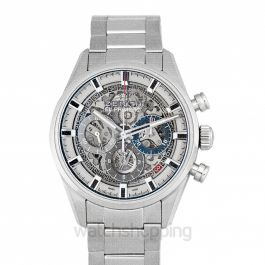 Chronomaster El Primero Full Open Skeleton/Steel 38mm